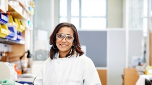 Millioni Chhabra, a scientist working on finding cure for HIV in North Carolina USA