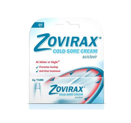 Zovirax Topical For Cold Sores Dosage